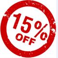nový 15%