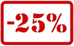 sleva 25%