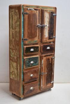Retro skříň z mangového dřeva Námdév