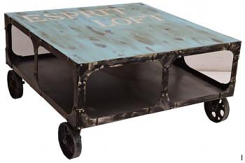 Industrialní konferenční stolek Container