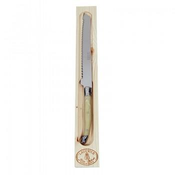 Nůž na pečivo Laguiole Jean Dubost - imitace slonoviny