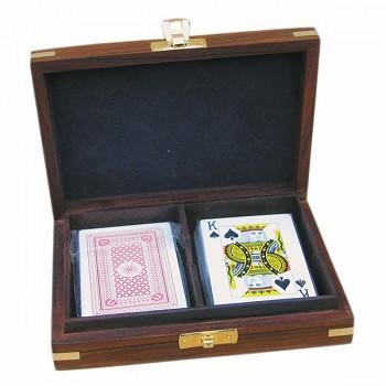 Karty na poker v dárkovém boxu