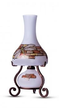 Bohemia Crafts VÁŽKA - elektrická a petrolejová lampa v jednom