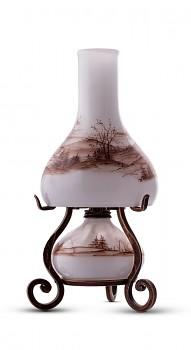 Bohemia Crafts KRAJINA - elektrická a petrolejová lampa v jednom