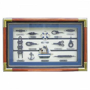 Deska s lodními uzly Thontex