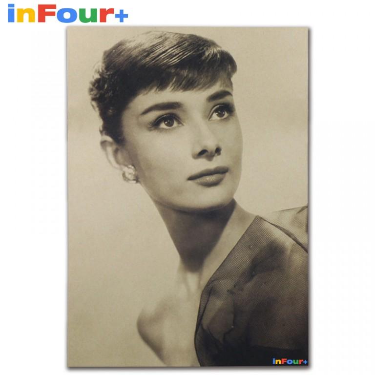 Plakát Audrey Hepburn 515x36cm Vintage č6