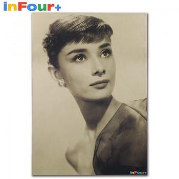 Plakát Audrey Hepburn 51,5x36cm Vintage č.6