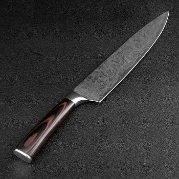 "Šéfkuchařský nůž 8"" XITUO ocel 7CR17 440C"