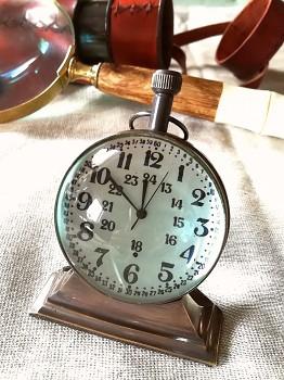 Kulaté námořní stolní hodiny