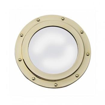 Mosazné kruhové zrcadlo Columbus
