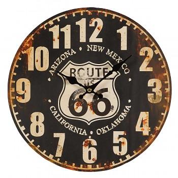 Nástěnné hodiny Route 66