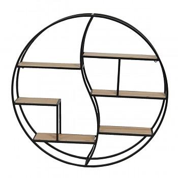 Nástěnná kruhová polička