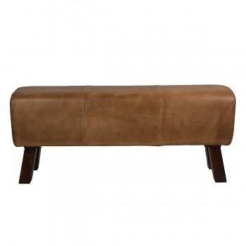 Kožená lavice