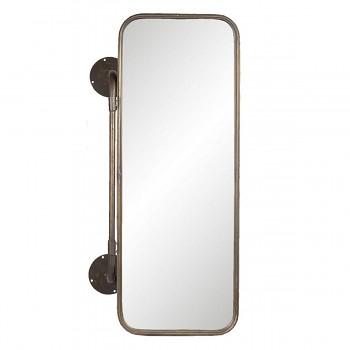 Nástěnné otočné zrcadlo s košíky