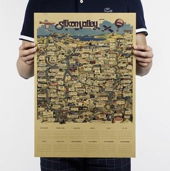 Plakát Silicon Valley 51x35,5cm 35,5 x 51 cm