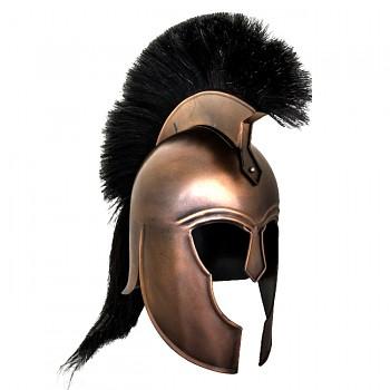 Trojská helma řeckých Myrmidónů