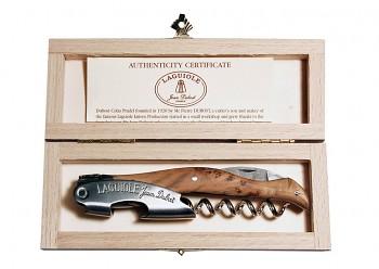 Luxusní sommelierský nůž Laguiole Jean Dubost