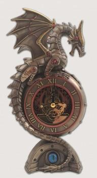 Stolní hodiny SteamPunk Drago