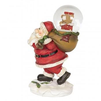 Santa se sněžítkem