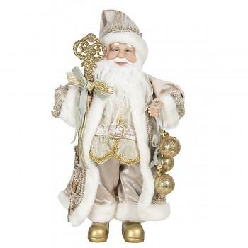 Santa s ozdobami