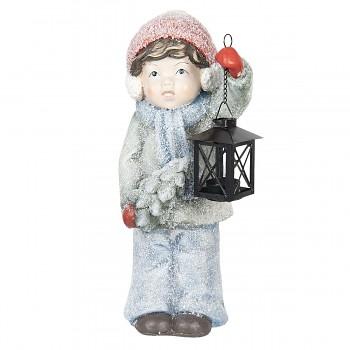 Děvčátko s lucernou