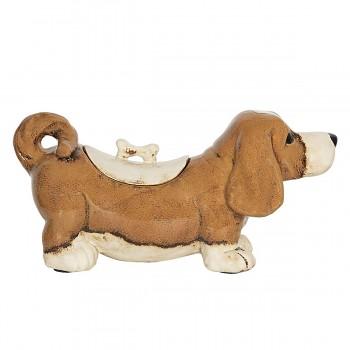 Keramická dóza DOG