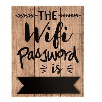 Cedulka WIFI PASSWORD