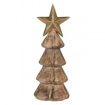 Dřevěný vánoční stromeček