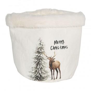 Dekorativní košík CHRISTMAS
