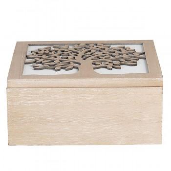 Dřevěná krabička TREE