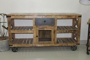 Media stolek Wagon vintage