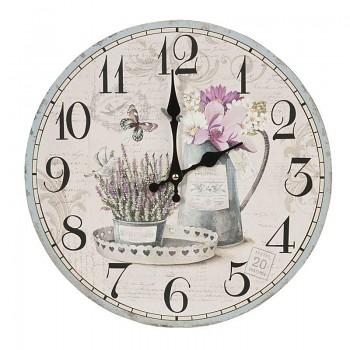 Nástěnné hodiny FLOWERS