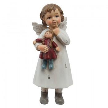 Andílek s panenkou