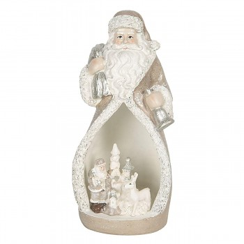 Santa s LED osvětlením