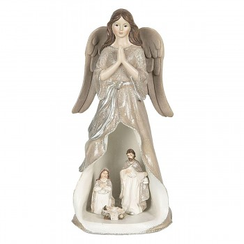 Anděl s LED osvětlením