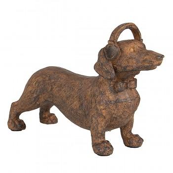 Dekorativní pes DACHSHUND