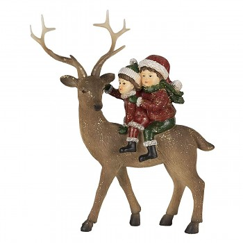 Děti na jelenovi