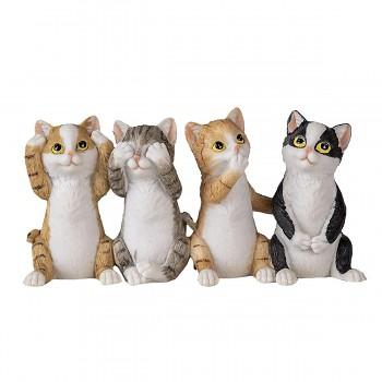 Čtyři kočičky