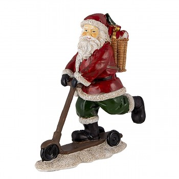 Santa na koloběžce