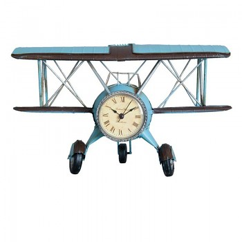 Aeroplán s hodinami