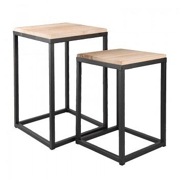 Dva odkládací stolky