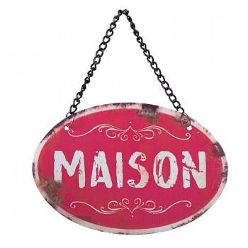 Cedulka MAISON