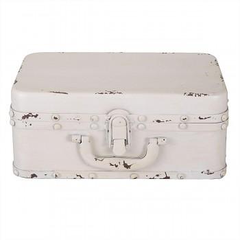 Dekorativní kovový kufřík