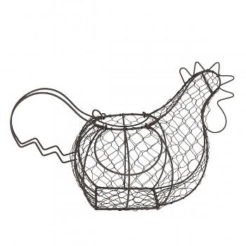 Kovový košík na vajíčka CHICKEN