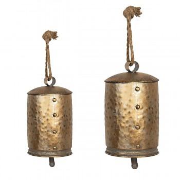 Sada dvou dekorativních zvonků