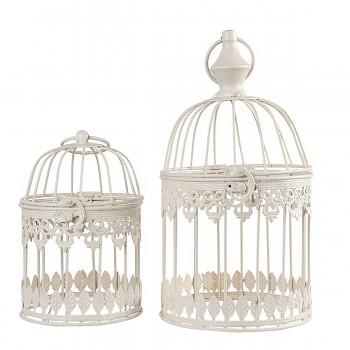 Sada dvou dekorativních ptačích klícek
