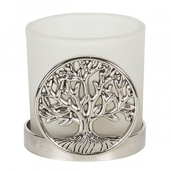 Svícen na čajovou svíčku TREE