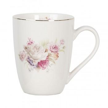 Porcelánový hrníček FLOWER ROSES