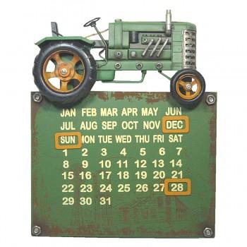 Nástěnný kalendář TRACTOR GREEN