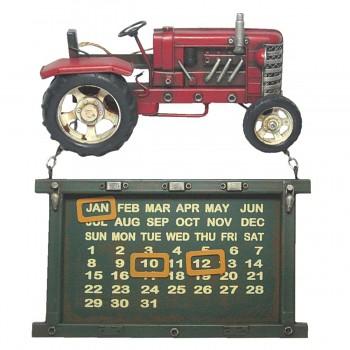 Nástěnný kalendář TRACTOR RED